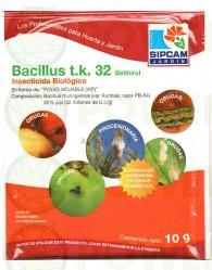 Bacillus T.k. 32 millones (Sipcam Jardin) mata orugas