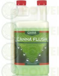 Canna Flush sirve como Limpiador del Sustrato