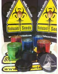 Grinder Biohazard Seeds 38 mm 4 partes