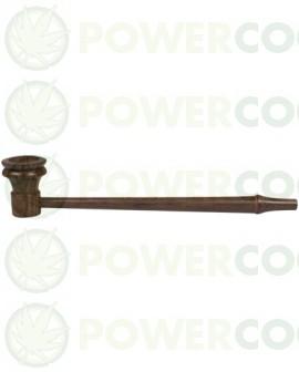Pipa de Madera de palo de rosa Larga-Delgada de 17.7 cm -rwp-007