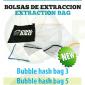 Bolsas de Extracción 3 Mallas Bubble Hash Bag (Todo Malla)