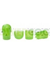 Grinder de Plástico 3 Partes, (Depósito y grinder)