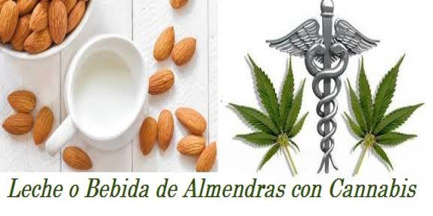 Receta Leche de Almendras con Marihuana