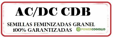 AC/DC CBD FEMINIZADA GRANEL 0