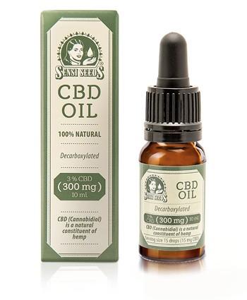 Aceite de Cáñamo de Sensi Seeds 3% CBD (300mg) 10 ml 0