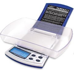 Báscula Digital My Weigh Palmscale 200 gr. / 0.1 gramos de precisión La Báscula Digital Palmscale:  Con un uso sencillo y ergonomico y una lectura rapida en pantalla  Con un peso máximo de 200 gr. y una precisión de 0,1 gr. La Báscula Digital Palmscale te 1