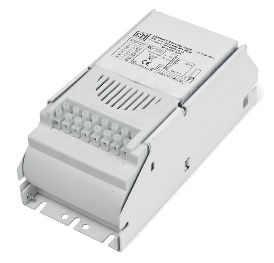 Balastro 600W ETI Electromagnético 1