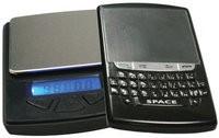 La balanza de precisión con aspecto de Blackberry. 0