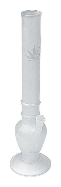 Bong Cristal Mate Hoja Marihuana 37.5cm 0