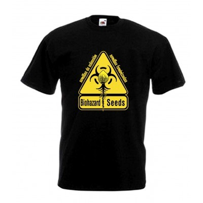 Camiseta Biohazard Seeds Logo  0