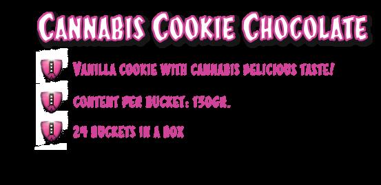 CannaCookie Chocolate Galletas con Marihuana 1