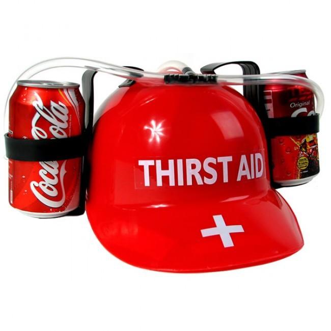 Casco para bebidas - Thirst Aid para fiestas y eventos 0