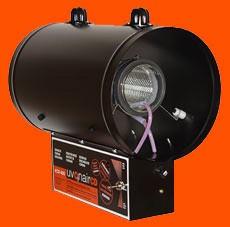Ozonizador Uvonair CD800 Elimina el olor de Conducto y Habitación de Cultivo 1