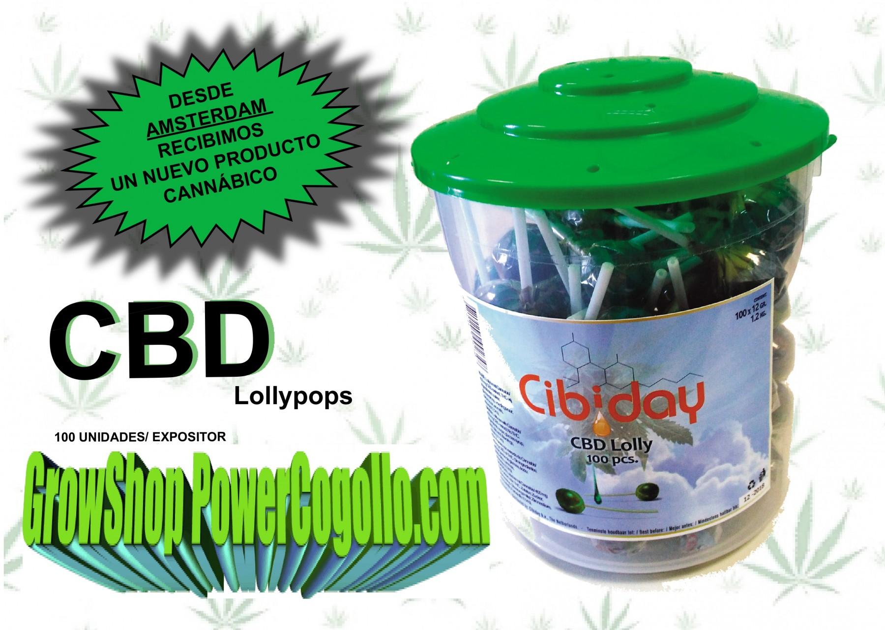 ChupaChups de Marihuana con CBD (Cannashock) 1