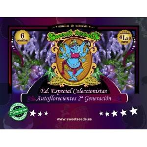 Ed. Especial Autoflorecientes 2ª Generación (Sweet Seeds) 6 semillas feminizadas Automáticas Cannabis 0