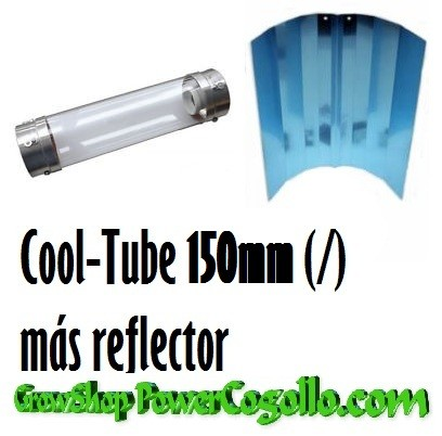 Cool Tube 150mm más Reflector Stuco 1