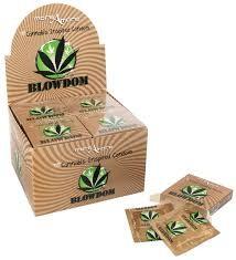 Preservativo Blowdom Condón con Sabor Cannabis 1