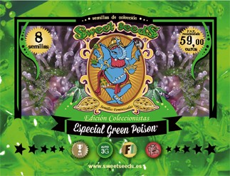 Ed. Especial Green Poison Semillas Feminizadas de Sweet Seeds 0