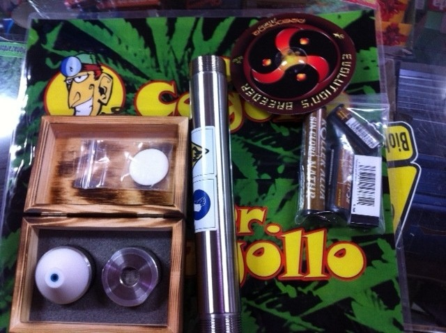 Kit Roller Extractor BHO Acero 0