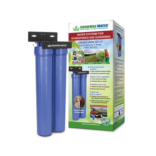 FILTRO DE AGUA GARDEN GROW 480 L/H (GROWMAX WATER) 0