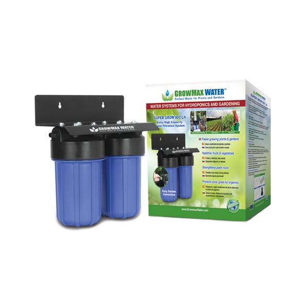 FILTRO DE AGUA SUPER GROW 800 L/H (GROWMAX WATER) 0
