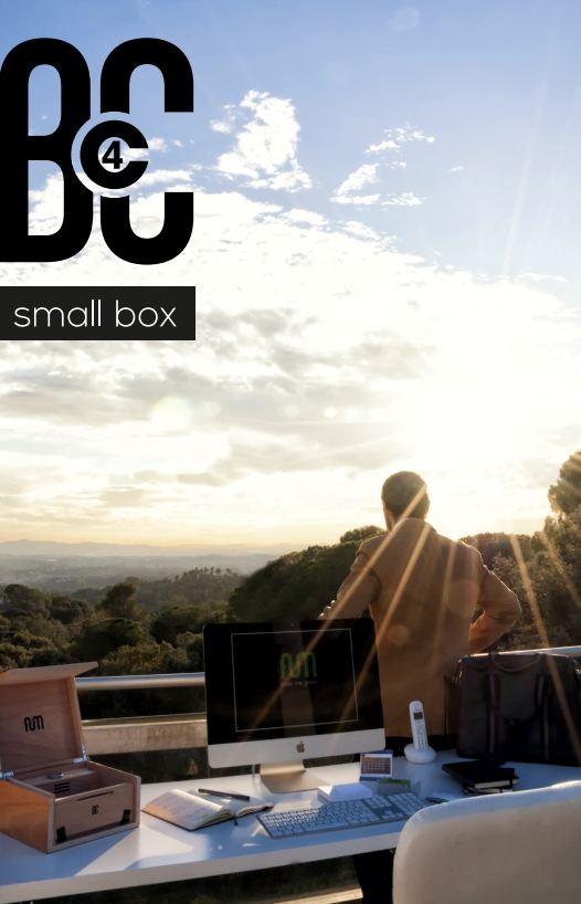 Caja FumBox de Curado Humidor conservar marihuana 1