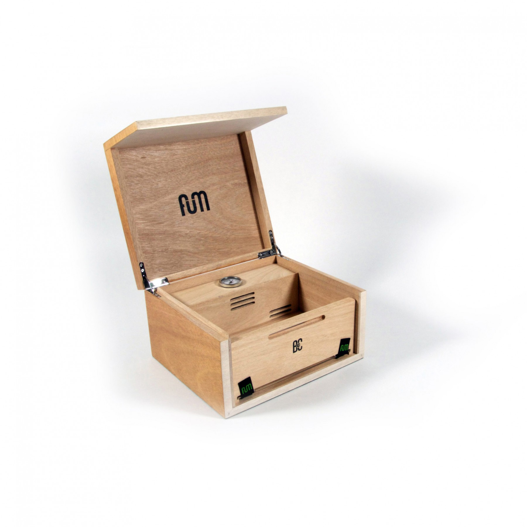 Caja FumBox de Curado Humidor conservar marihuana 2