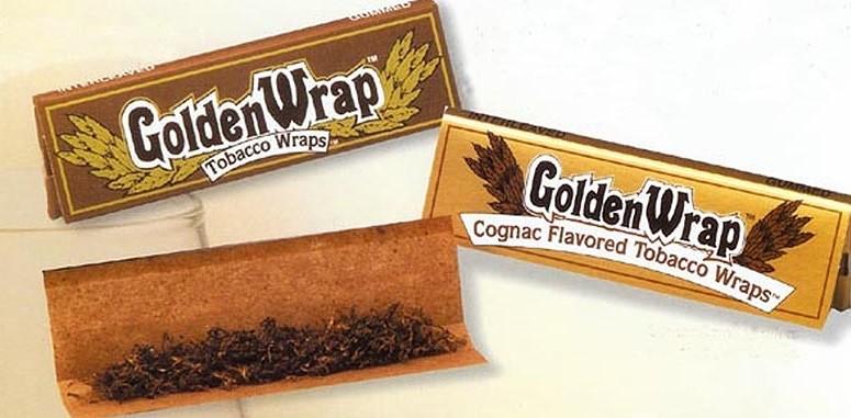Papel Tabaco Golden Wrap KS  1