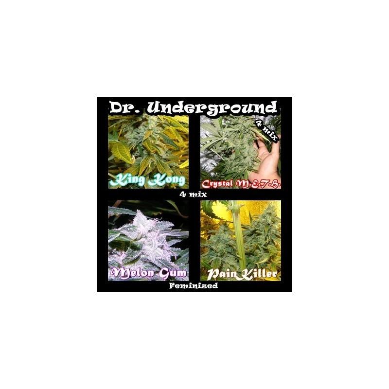 Killer Mix 8 (Dr. Underground Seeds) Pack 8 Semillas Feminizadas Cannabis 0