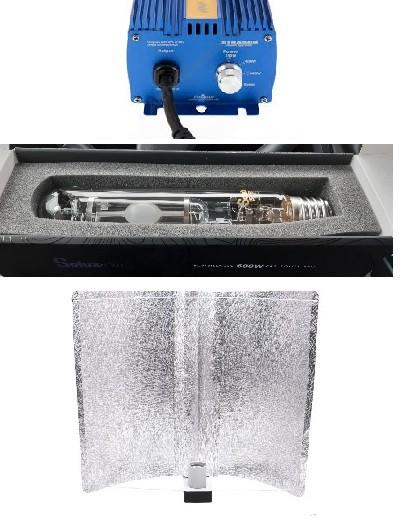 KIT 600W LEC SOLUX E40 3100K PARXTREME REFLECTOR MICROPUNTO 2