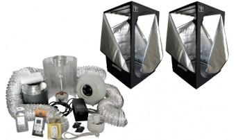 Kit CultiBox SG-Combi XL (240x120x200cm) Completo Armario de Cultivo Interior, 0