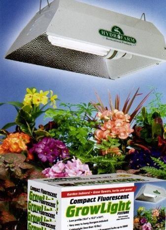 Kit 150 w Floramax CFL + Reflector Blanco Bajo Consumo Cultivo Interior 1