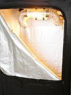 Kit Armario Dark Room 120x120cm 600w 0