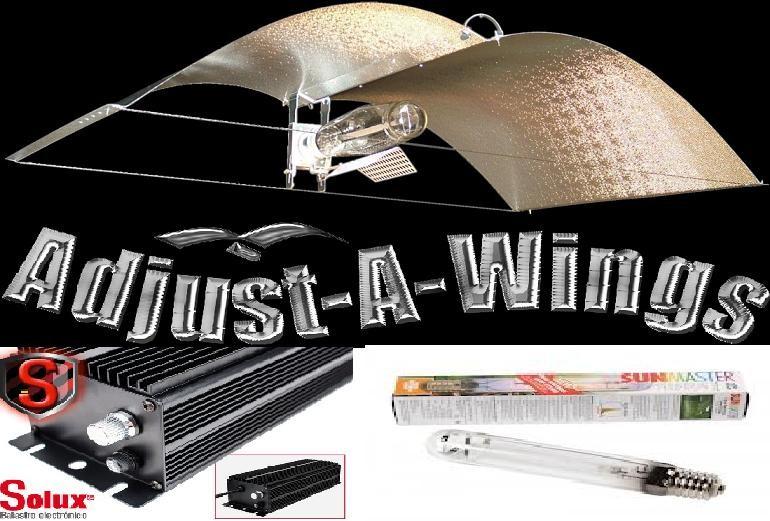 Comprar Kit de iluminación 600w Solux Digital Con Adjust-A-Wings Medium Avenger 0