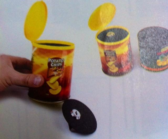 Bote de Patatas Chip Ocultación  0