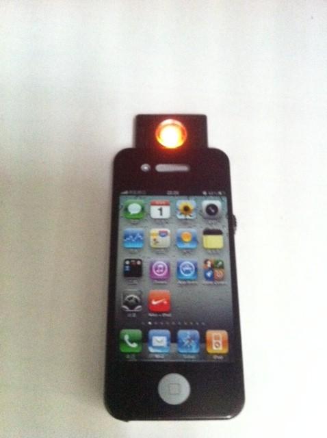 Mechero Iphone USB sin gas 1
