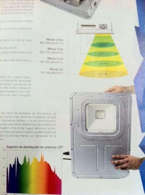 Luminaria de Plasma GROWER LIGHT GL400-T  0