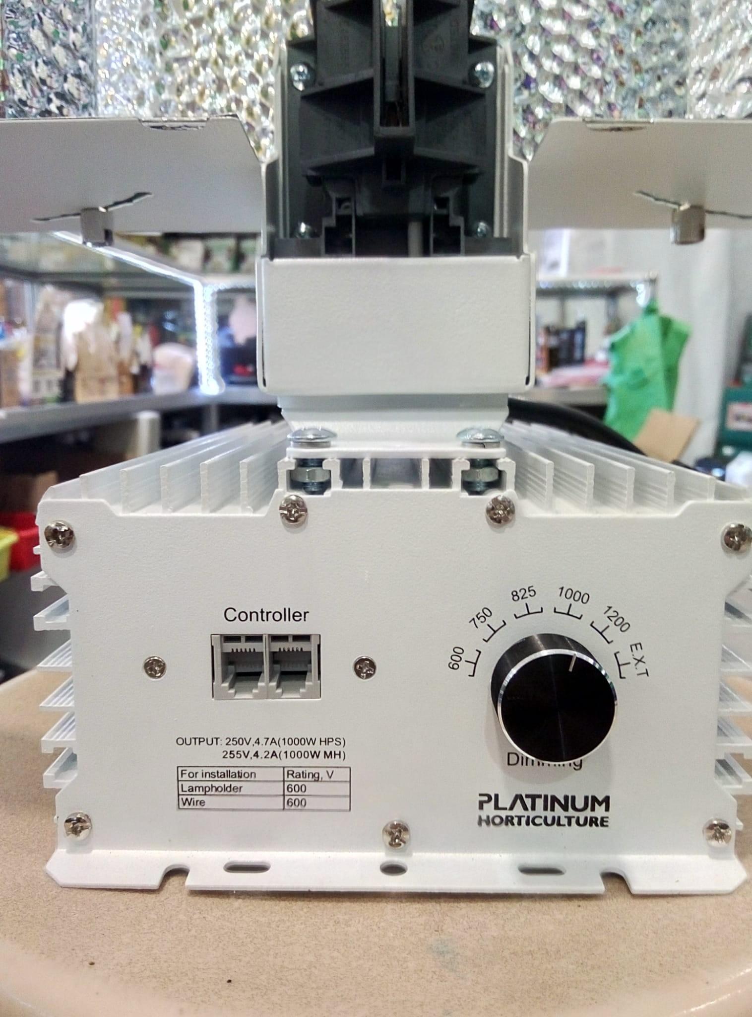 Luminaria HPS Comet 1000W DE Platinum Horticulture 1