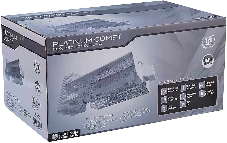 Luminaria-HPS-Comet-1000W-DE-Platinum-Horticulture 4