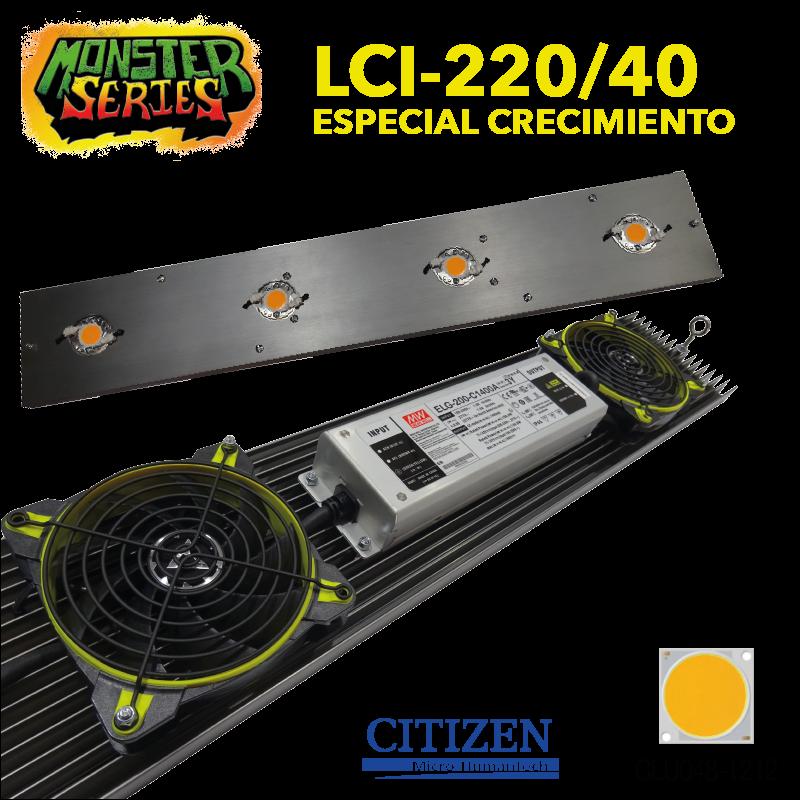 LUMINARIA LED LCI-220W 4000K LUMILIGHT CICLO COMPLETO 0