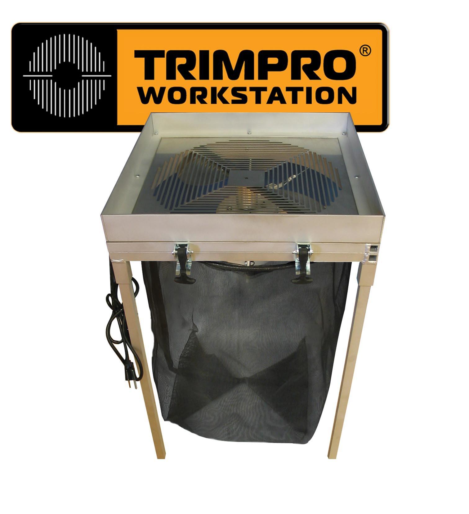 Máquina Peladora Trimpro WorkStation manicurar cogollos 1