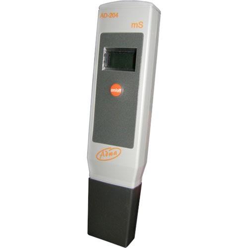 Medidor de Conductividad Eléctrica Digital Adwa (AD204) rango de 0 a 19.99 mS /cm.  Este conductimetro de Adwa ofrece las siguientes ventajas:  *Mayor resolución: el Conductivimetro Adwa realiza una lectura amplia para obtener valores reales.  *Mayor prec 0