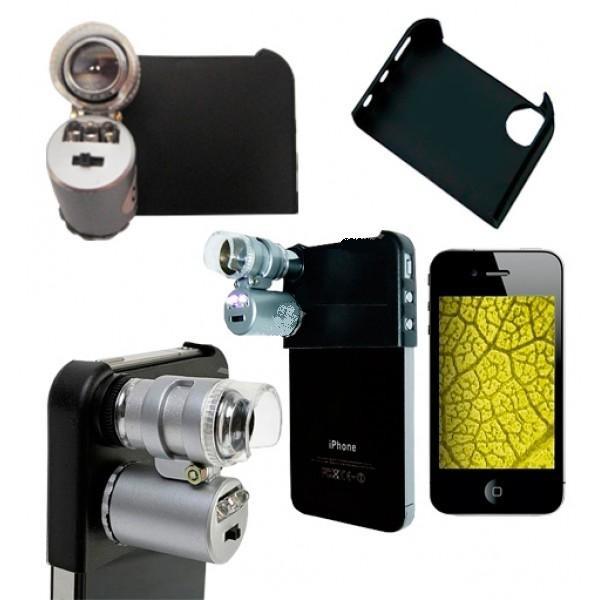 Mini Microscopio Led 60x para IPHONE 5 0