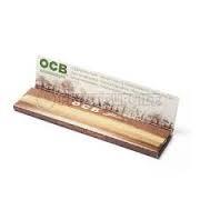 Librillo de Papel de fumar OCB Virgin No Blanqueado Marrón Natural 0