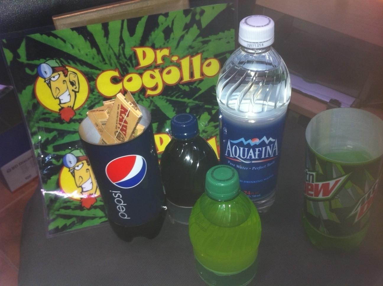 Botella Refresco Pepsi Ocultación Camuflaje en su interior, 1