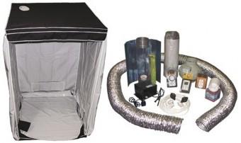 Kit Armario Cultibox Light M Completo Cultivo Interior cannabis 0