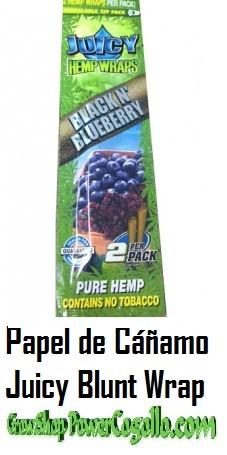 PAPEL DE CAÑAMO HEMP WRAPS JUICY BLUNT ARÁNDANOS 0