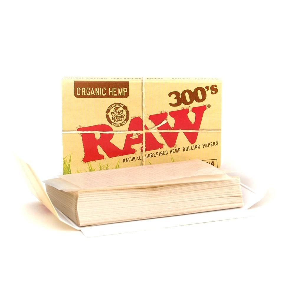 Papel Raw 1 1/4 300's Orgánico ( 1