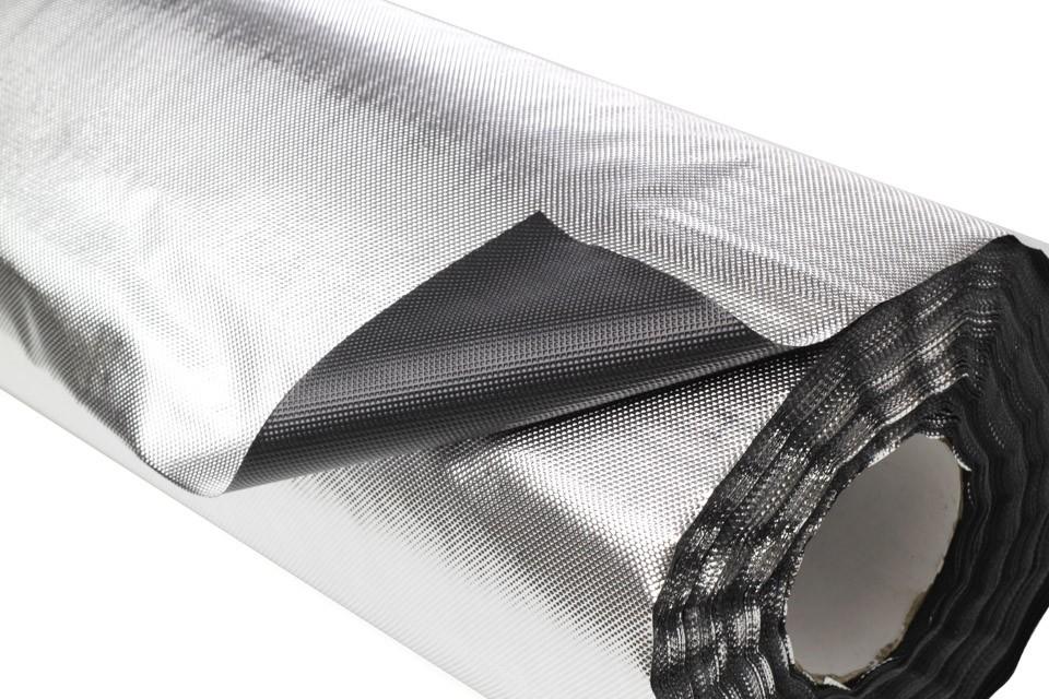 Plástico Reflectante Diamante-Negro VDL 2