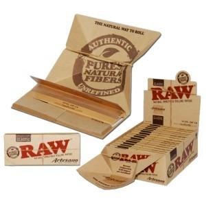 Papel Raw Artesano K.S. Slim +Bandeja + Boquillas 1